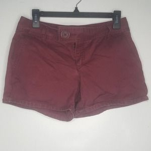 4 Old Navy Red Burgundy Maroon Shorts Flap T